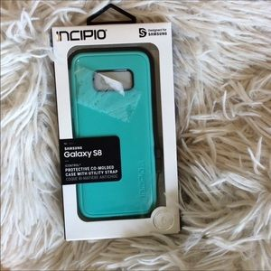 Galaxy S8 Phone Case Molded Utility Strap New
